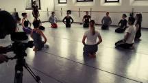 Rehearsal for 'Collegamenti'. Leggere Strutture Art Factory, 24/03/2016