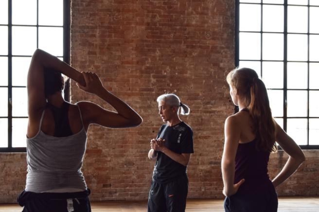 Adriana Borriello's rehearsals at the Venice Arsenal. June 2016. Photo: M. Davis